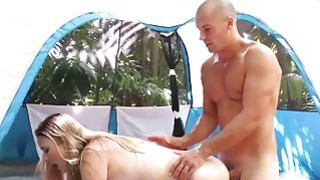 Alyssa Cole and Haley Reed fucks outdoor Preview Image