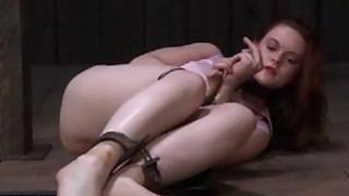 Tormented slave is giving corporalist a oral sex Preview Image