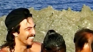 Sluty African Whore Fucked On A Beach In An Interracial Threesome Preview Image