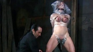 Nude and gagged_chick acquires cunt pleasuring Preview Image