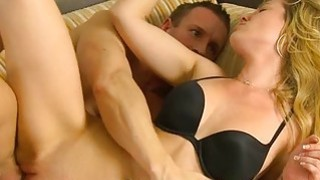 Hungry hunk couldnt stop sampling beautys pussy Preview Image