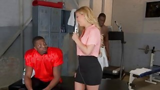 Throatfucked MILF Cheri Deville Gets Manhandled By Two Black Studs Preview Image