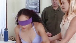 Teen Liv Revamped needs some training from MILF mom to fuck right Preview Image