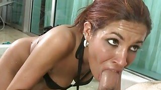 Indecent pornstar rides on a oneeyed monster Preview Image
