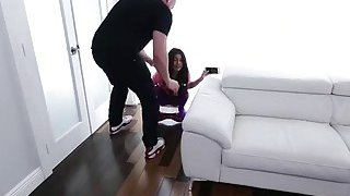 Tiny latina Veronica Rodriquez banged by huge cock Preview Image