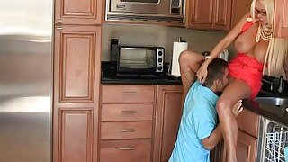 Stepmom nd teen slut threesome session with pervert BF Preview Image
