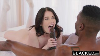 Smoking hot babe cheats_on her BF with his gifted room mate Preview Image