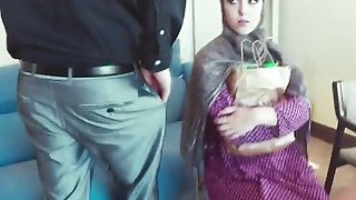 Arab chick gets pussy defenestrated at_job interview Preview Image