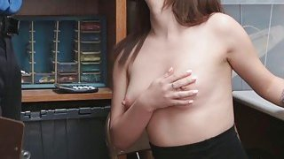 Lily Jordan got a nice facial from the Lp offficer she banged Preview Image
