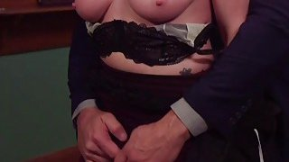 Bdsm couple anal fucked in front of slave Preview Image
