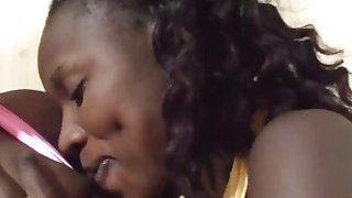 African babes pleasing lucky guy white schlong Preview Image
