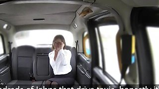 Hot mom rims and fucks fake taxi driver Preview Image