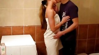 Young Libertines Passionate fuck in a bathroom Preview Image
