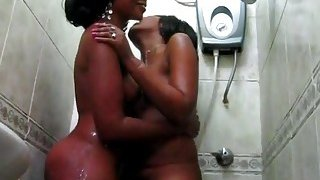 Sajeda all soaped up and ready for some lesbo action Preview Image