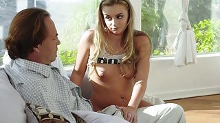 Adria Rae got her pussy fuck hard_by daddy doggystyle Preview Image