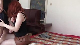 Young_Redhead_Barbara_Babeurre_Sucks_Dick_And_Tries_Anal_Sex_In_Bedroom Preview Image