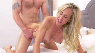 Busty mom Brandi Love on her fours gets pussy pounded Preview Image