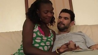 Slutty African babe gets banged_in doggy style Preview Image