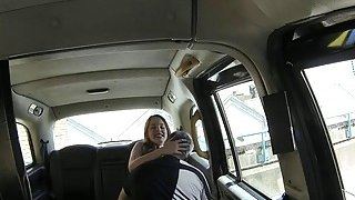 Hot redhead pounded by pervert driver in the backseat Preview Image
