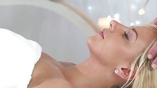 Blondes massage becomes a hot oral session Preview Image