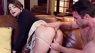 Charles Dera drills Adria Raes stretched tight ass Preview Image