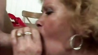 Horny man licks lusty granny's hairy pussy before he fucks her very hard Preview Image