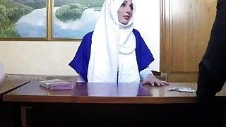 Arab Ex Enjoys Riding Long Schlong In_Hotel Room Preview Image