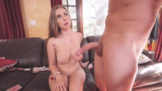 Lena Paul serves lucky dick with her_experienced mouth Preview Image