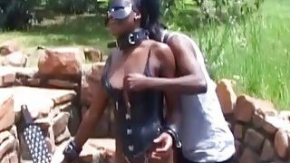 Ebony slave is about to get a rough intrusion Preview Image