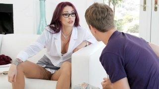 Dr. Monique Alexander seduces student Markus Preview Image