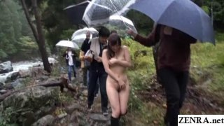 JAV outdoor nudity nature Yuu Kawakami Subtitles Preview Image