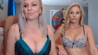 Two Blonde Fairy Sharing One Dildo For Pleasure Preview Image