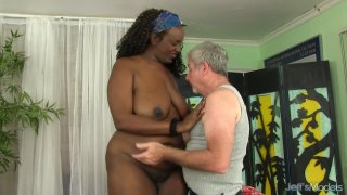 A Masseur Gives Fat Ebony Heather Mason Sex Toy Orgasms Preview Image