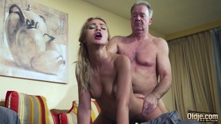 Old Man Dominated_sexy_hot babe old young femdom Preview Image