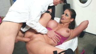 Volleyball player Cathy Heaven gets fucked by coach Danny D Preview Image