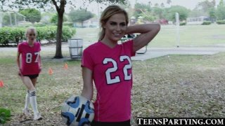 Spying On Hot Soccer Teen Girls Preview Image