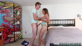 Hot teen fucks and swallow Orange You Glad Im So Tiny Preview Image