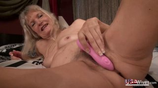 USAwives Great Mature Hairy Pussies with Toys Preview Image