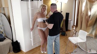 Buxom blonde MILF gives_head and takes it from behind Preview Image
