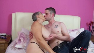 AgedLovE Mature Lady_Savanna Fucks Horny Lover Preview Image