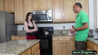 Busty stepsis sucks n fucked by stepbro Preview Image