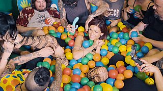 Ball_pit_babe_gets_teased_on_cam Preview Image
