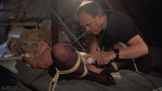 Hot slave gets punished in Masters cave Preview Image