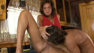 Busty_milf_Deauxma_gives_blowjob_to_young_guy_next_door Preview Image