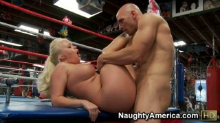 Fat_and_ugly_Angel_Vain_with_big_boobs_fucking_a_small_cock_on_a_boxing_ring Preview Image