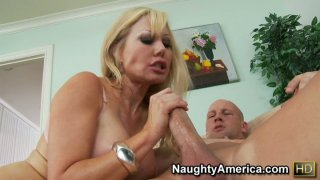 Blonde bitch Cindi Sinderson squirts like crazy while fucking Preview Image
