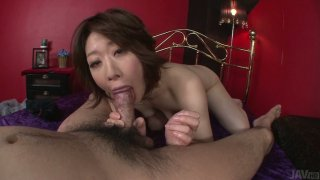 POV video of Japanese cunt Rio Kagawa_serving_her pussy doggystyle Preview Image