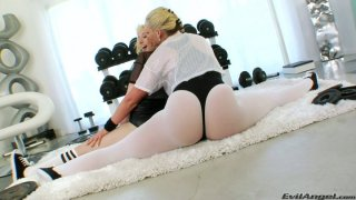 Sexited gymnasts Phoenix Marie & Proxy Paige polish anuses Preview Image