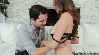 Long haired brunette Victoria Rae Black is an outstanding cock_sucker Preview Image