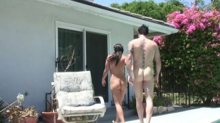 Chubby brunette MILF Kaci Starr gets her bearded clam drilled Preview Image